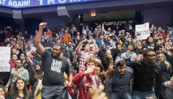 Security Concerns Postpone Trump Rally