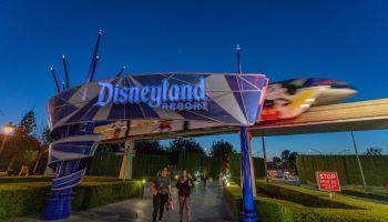 Disneyland Resort Entrence