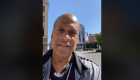 Jerry Wade in Downtown Indy after protests