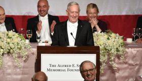 Martin Short & General Mattis at the Alfred E.Smith annual dinner