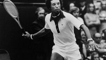Wimbledon 1976: Arthur Ashe