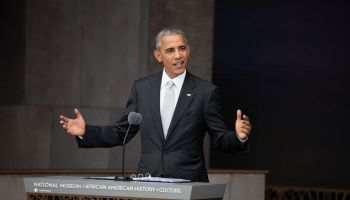 Barack Obama At NMAAHC Opening