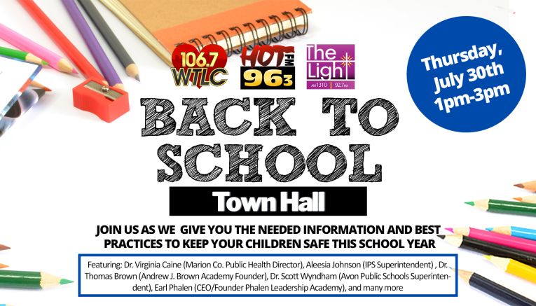 Back to School Town Hall (updated)
