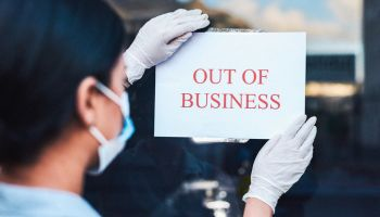The virus is just as deadly to businesses