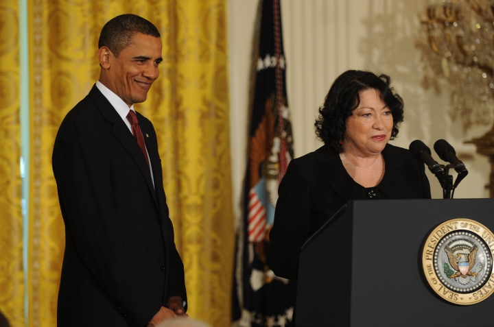 Nominated Sonia Sotomayor To The U.S. Supreme Court
