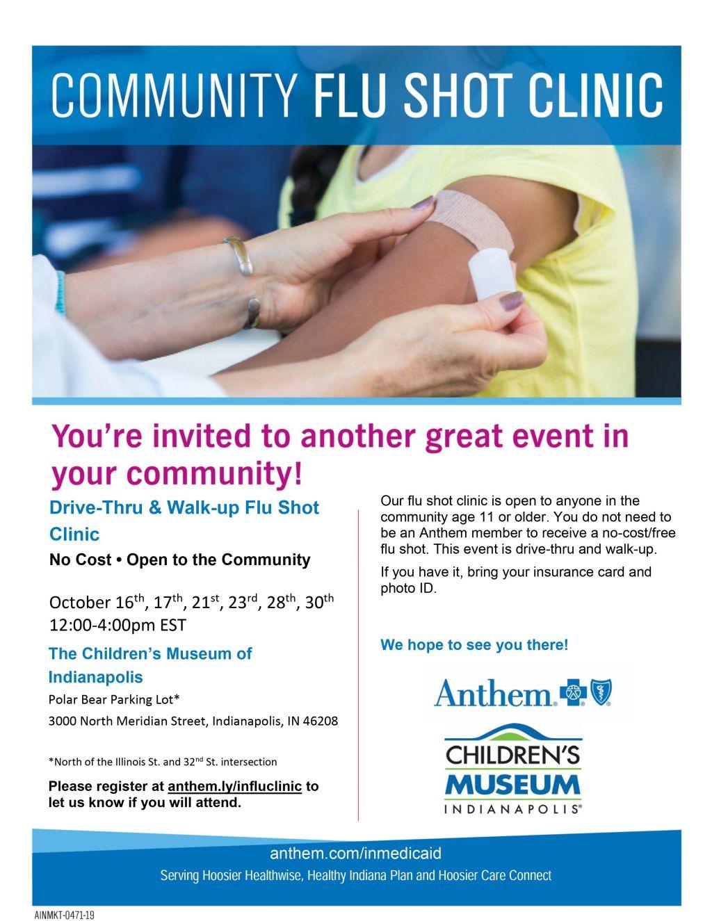 Anthem Community Flu Shot Clinic